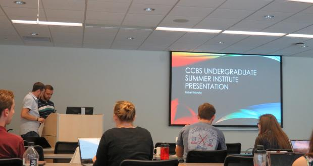 Undergrad Summer Presentation with Dr. Leber